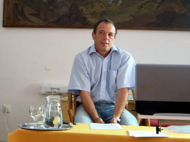 Balázs Géza előadása az ámokfutásról (Sátoraljaújhely, 2016. jún. 15.)
