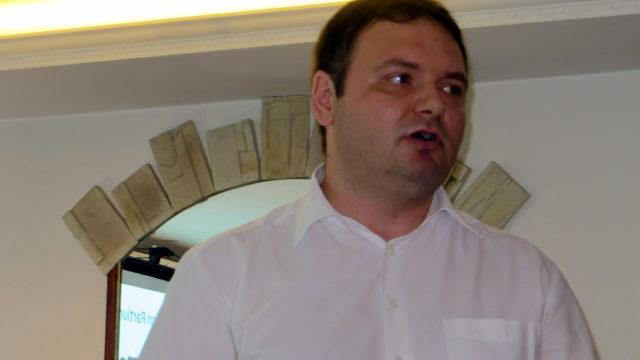 Szilágyi Ferenc, a Partiumi Területi Kutatások Intézetének igazgatója