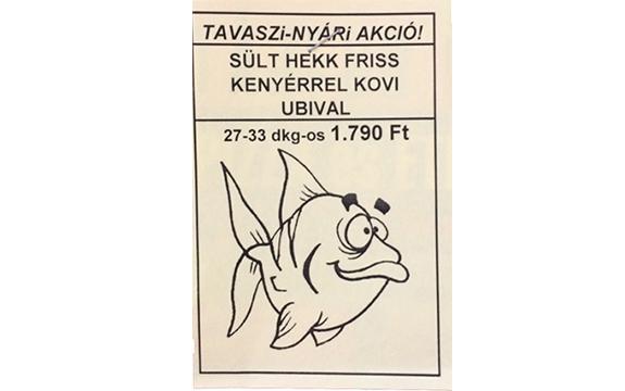 """A Manysi nyelvhasználata támogatja az """"édi-nyelvet"""": Sült hekk koviubival (kép: Manyszi)"""